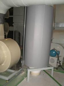Atenuação: Exaustão de Laboratório de Geologia - Atenuador PROJETADO EM PVC